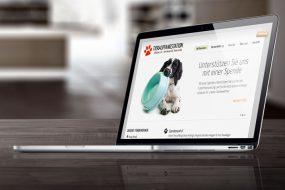 Tierauffangstation Kletzke Webauftritt
