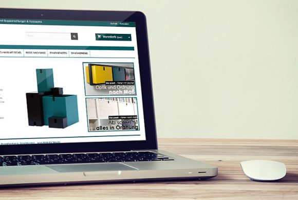 das passt. – E-Commerce Lösung für Handel mit Regaleinrichtungen & Accessoires