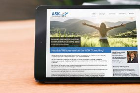ASK Consulting – Website