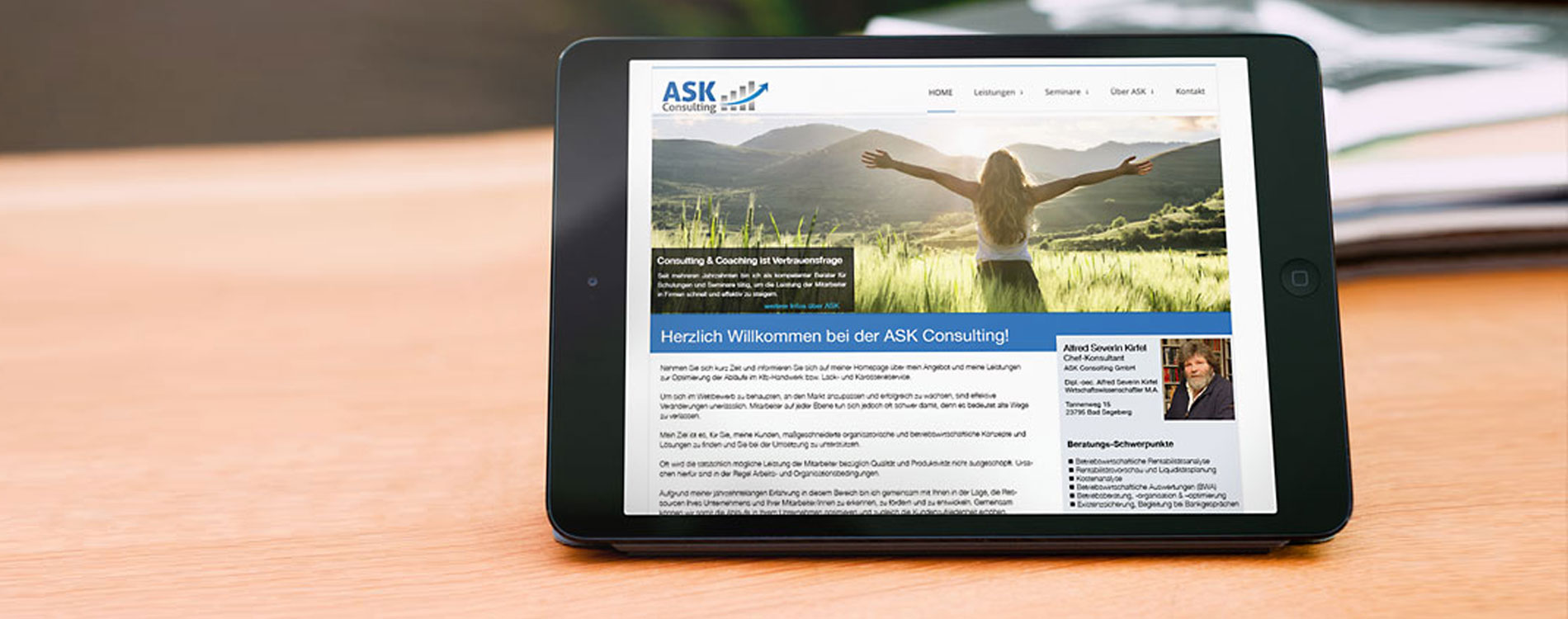 ASK Consulting - 404MEDIA Projekt
