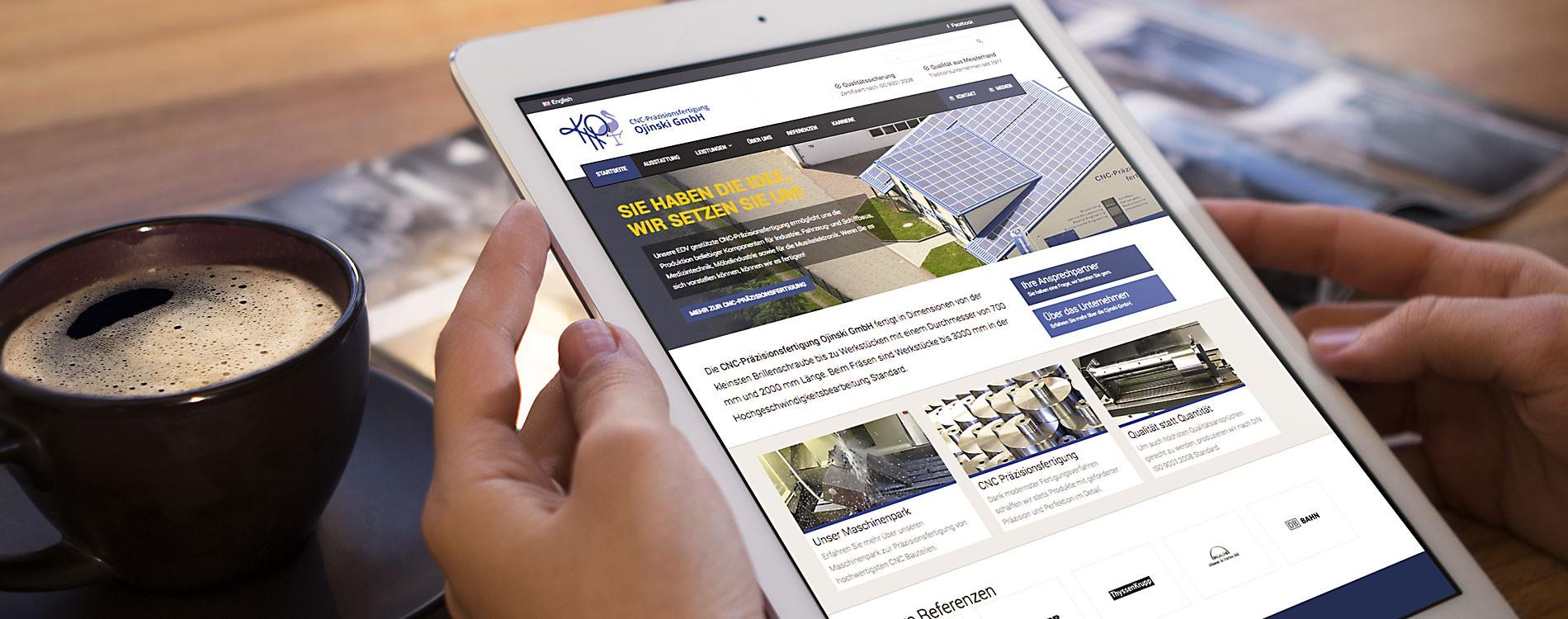 404MEDIA Projekt - CNC Ojinski