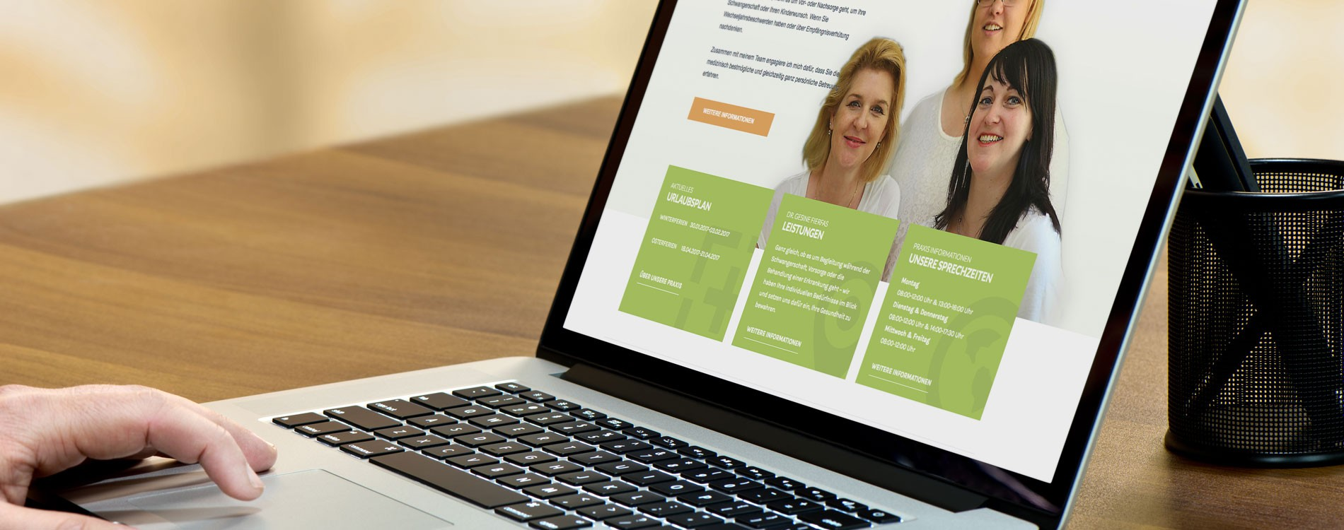 404MEDIA Projekt - Dr. med. Gesine Fierfas