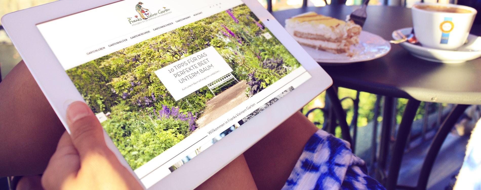 404MEDIA Projekt - Franks kleiner Garten