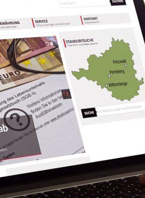 Jobcenter Prignitz – Webauftritt und Infoportal