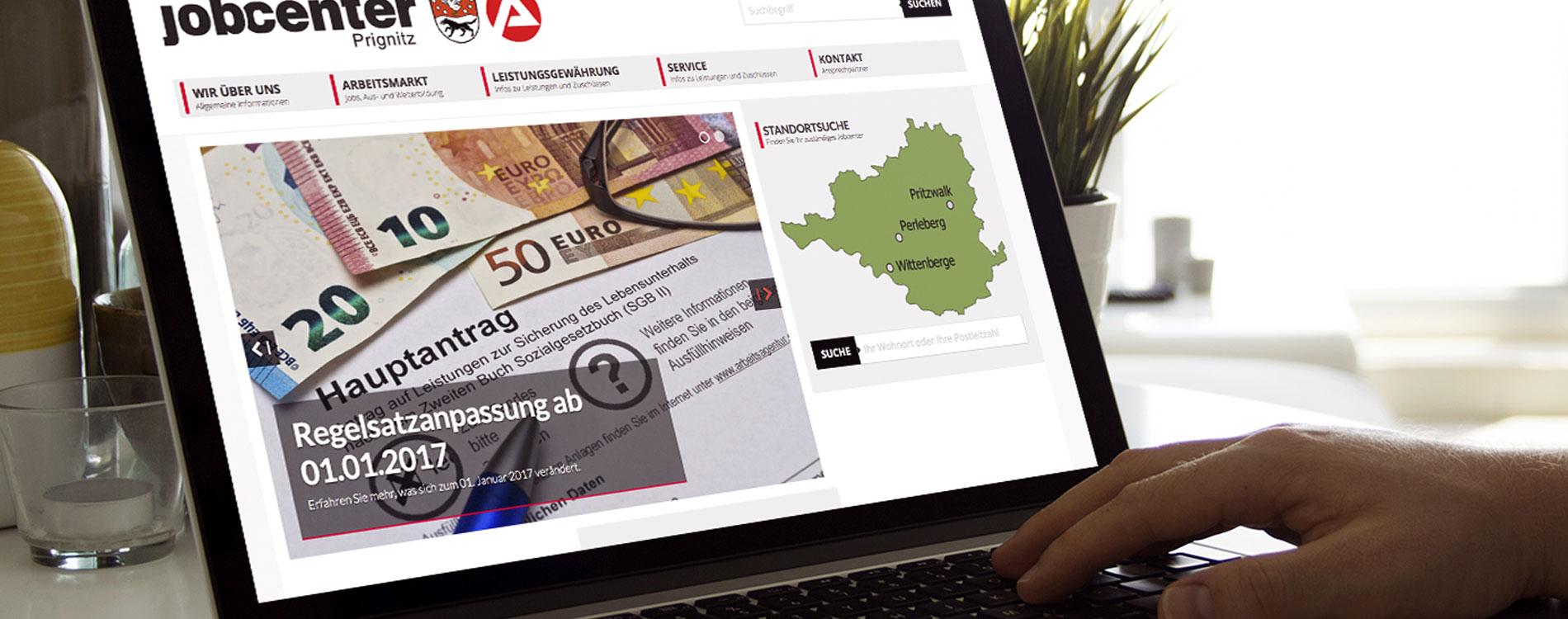 404MEDIA Projekt - Jobcenter Prignitz